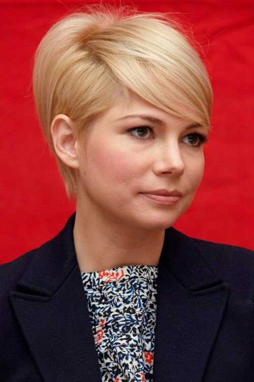 Michelle Williams Growing Out Hair Pics