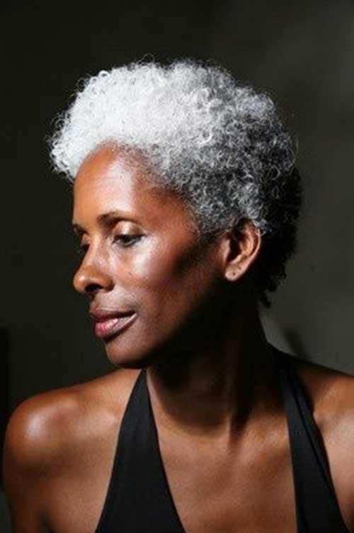 Chic Older Black Women Short Haircuts