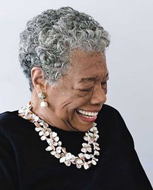 Older Black Women Short Natural Haircuts