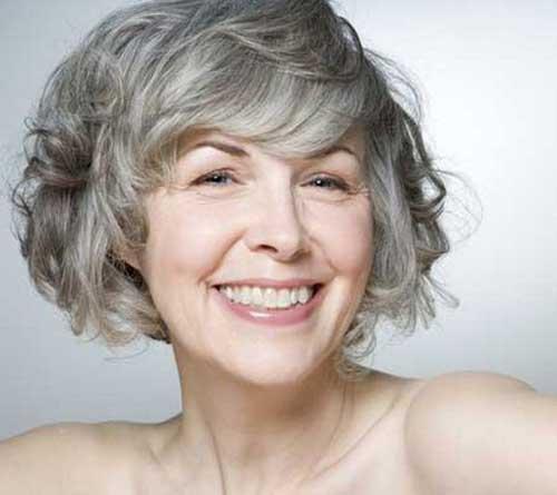 Best Older Ladies Wavy Hair Short Styles
