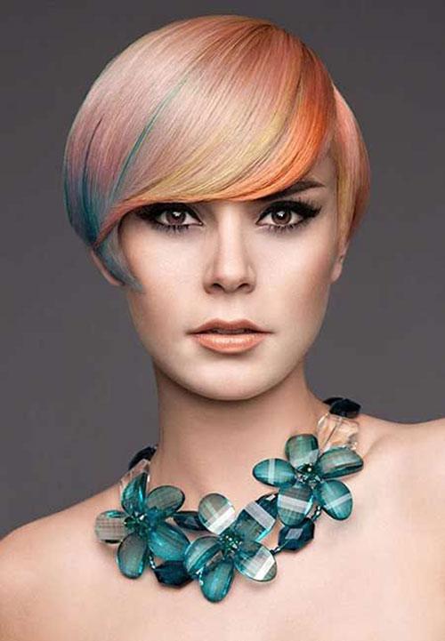Opal Color Short Hair Trends