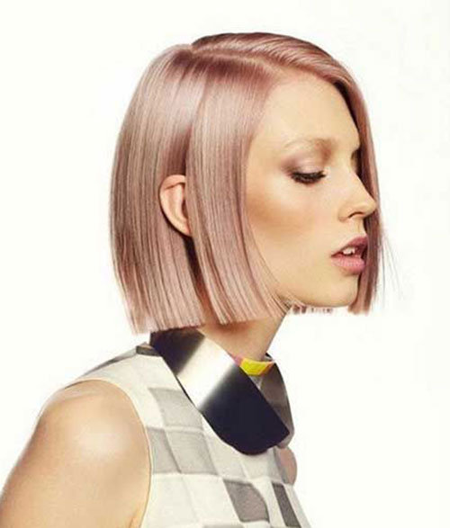 Pink Short Hair Color Trends