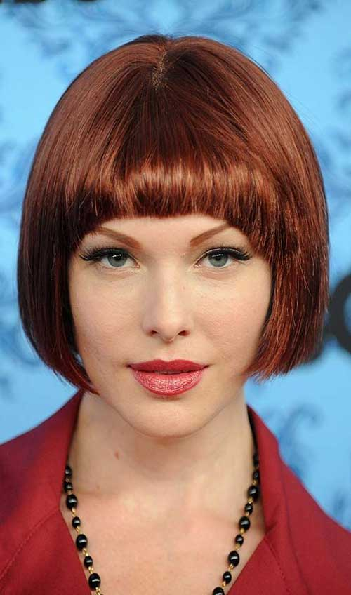 Most Popular Bob Hairstyles with Bangs