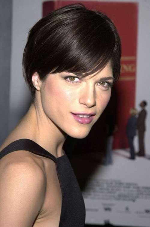 Selma Blair Cool Short Hair