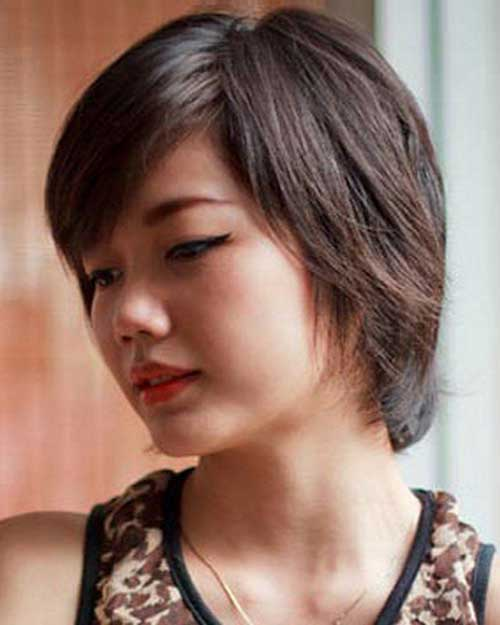 2016 Short Haircuts For Round Faces