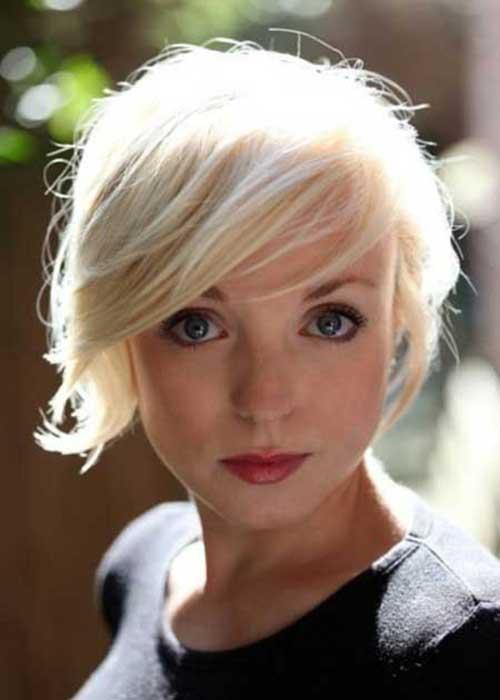 Cute Short Blonde Hairstyles