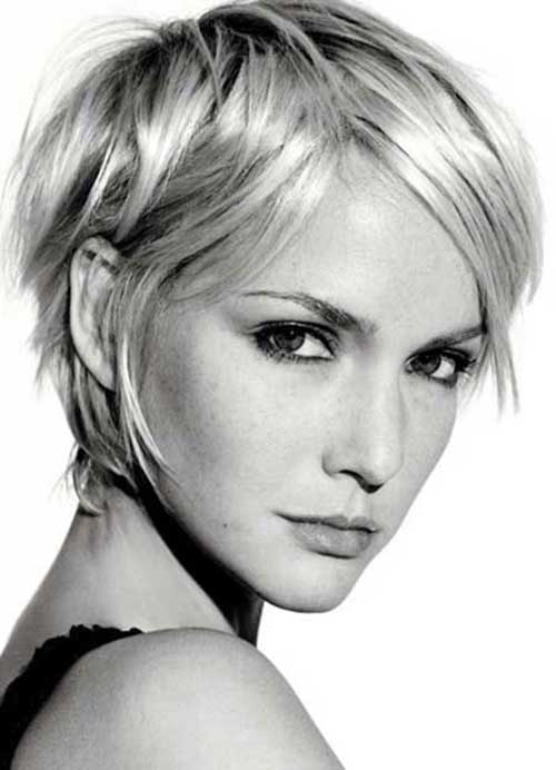 Cool Short Blonde Layered Pixie Haircuts