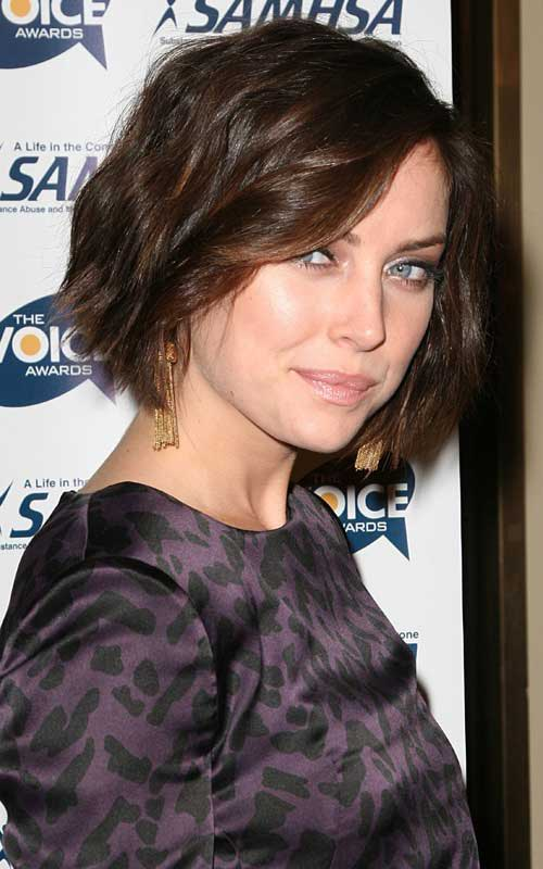 Short Bob Cut with Wavy Hairstyles