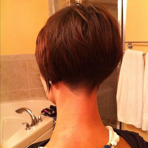 Short Hair Cuts Back View for Girls
