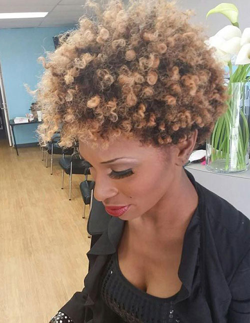 Short Natural Hair Ideas for Black Women