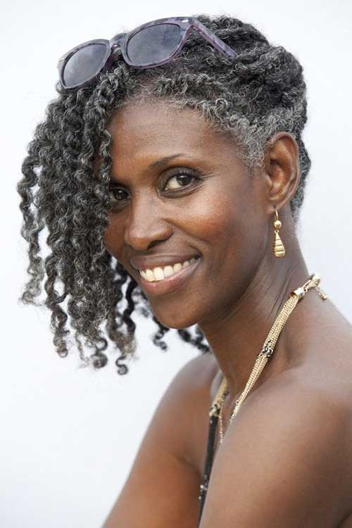 Best Short Hairstyles for Older Black Women