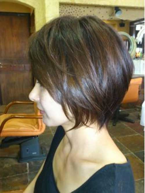 Casual Short Hairstyles for Thick Straight Hair