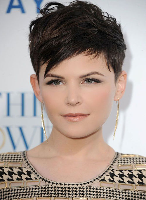 Short Layered Messy Pixie Cut