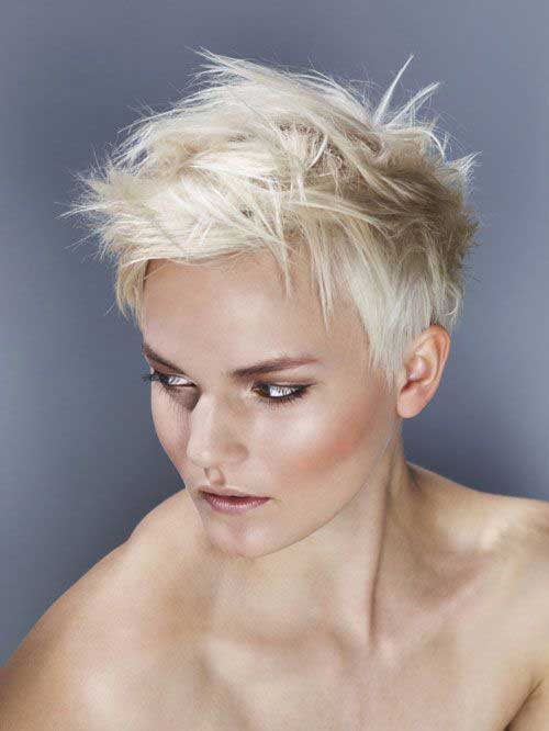 Trendy Short Messy Hairstyles for Women 2015-2016