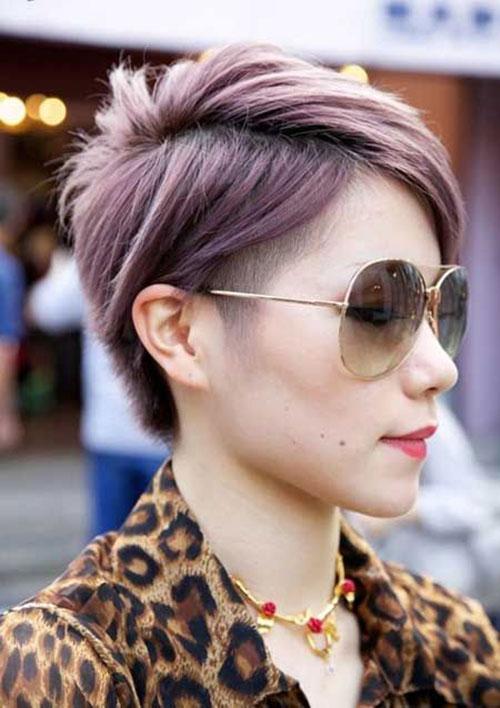 Best Short Pixie Hair Color Trends