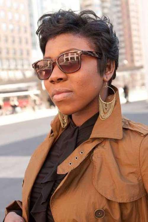 Best Short Pixie Haircuts Older Black Women
