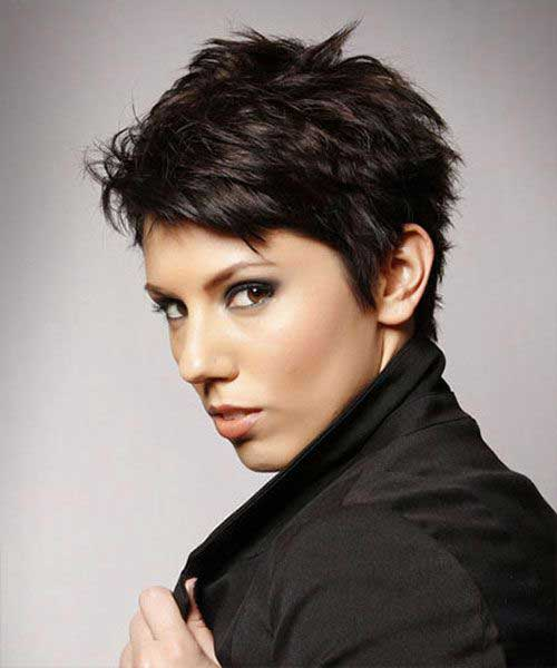 Short Pixie Hairstyles with Thick Hair