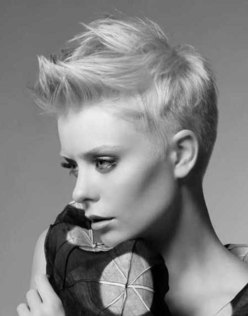 Trendy Short Spiky Pixie Haircuts