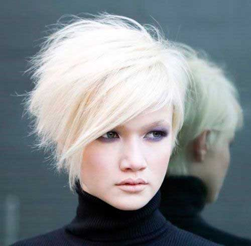 Short Stacked Hairstyles 2015