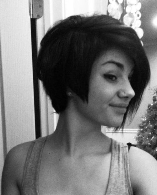 Short Thick Bob Hair Styles for Girls