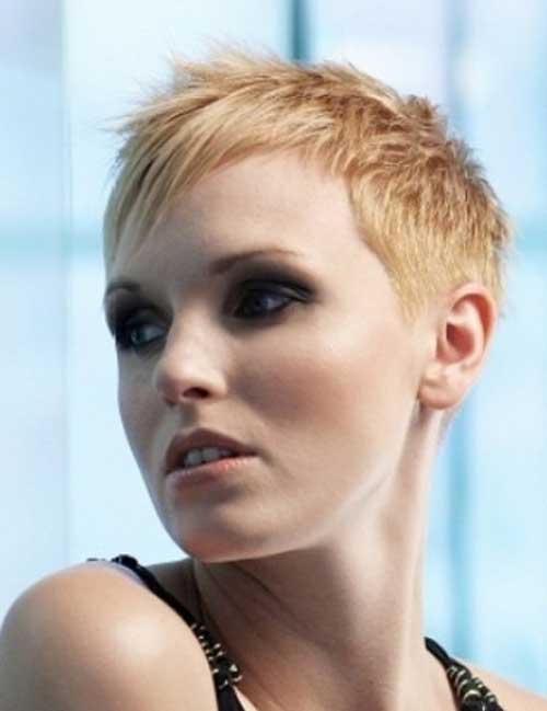 Casual Super Short Pixie Haircuts For Women Pictures to pin on ...