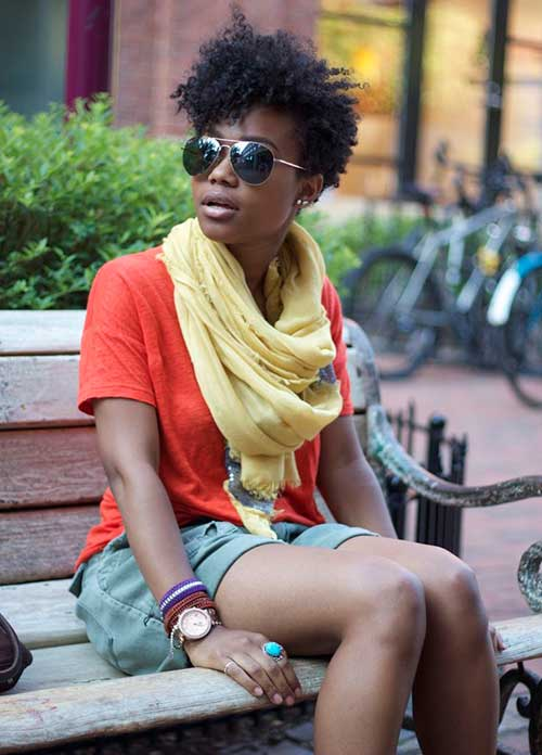 Stylish Short Curly Hairstyles for Black Women