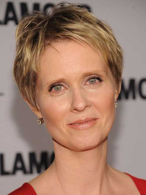Super Short Pixie Cuts for Women Over 50