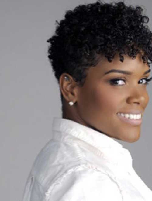 Best Tapered Short Cut on Natural Curly Hair