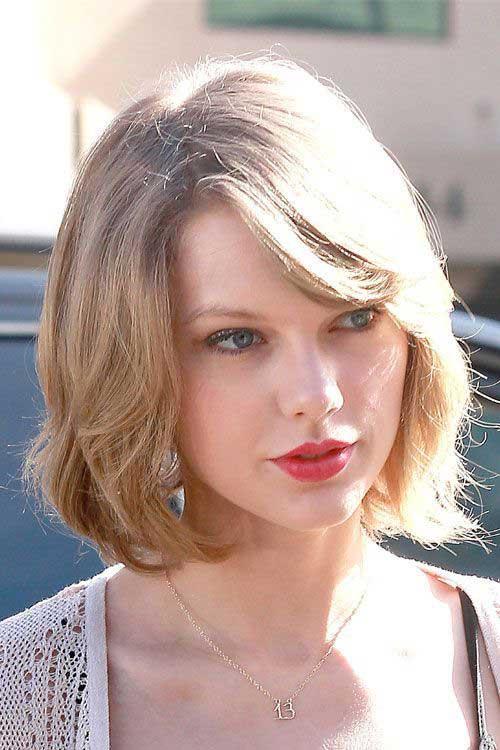 Best Taylor Swift Short Hair Style
