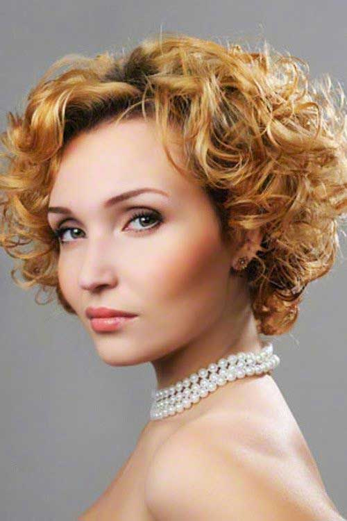 Short Hairstyles For Curly Hair The Best Short Hairstyles For Women 2016
