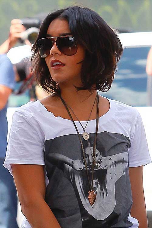 Thick Short Wavy Bob Hairstyles
