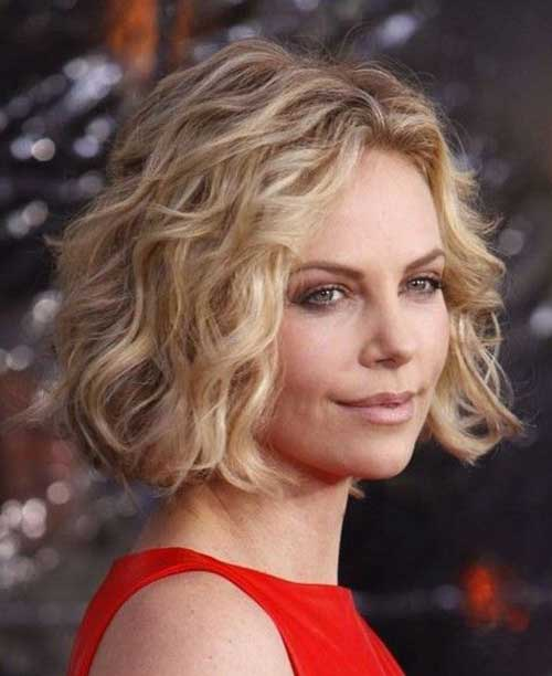 Thick Short Wavy Curly Hairstyles