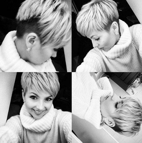 Trendy Layered Pixie Haircuts