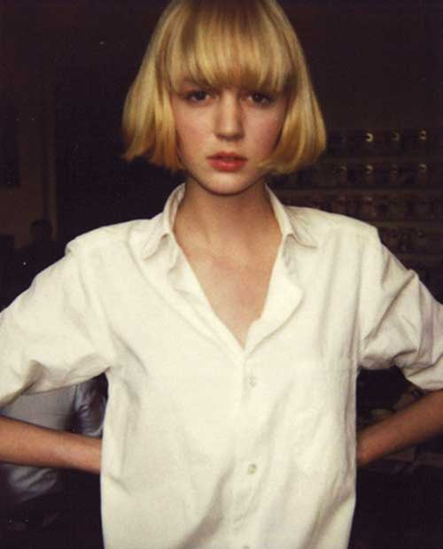 Best Very Short French Bob with Bangs