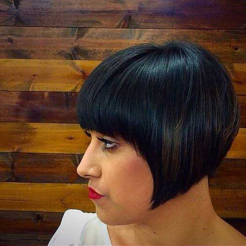 Best Vintage Bob with Bangs