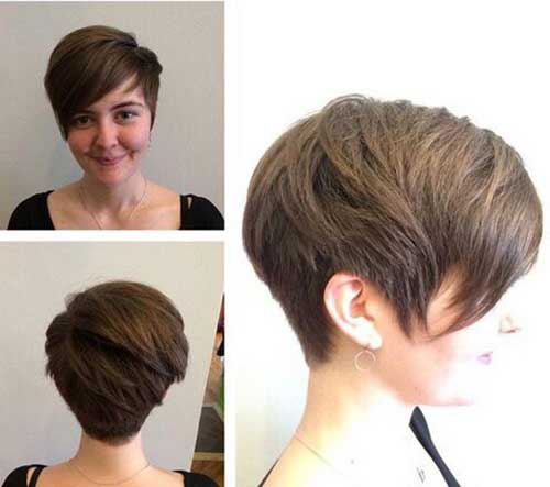 Stylish Women Super Short Hair
