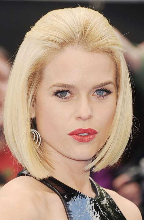 Actresses A Line Bob Short Hair