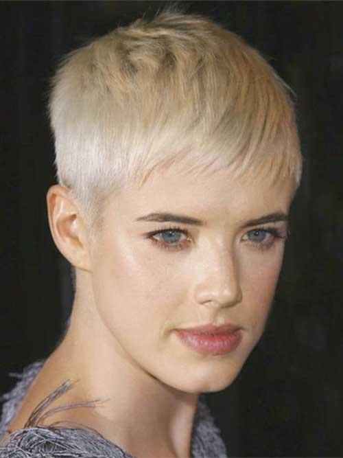 Agyness Deyn Short Blonde Pixie