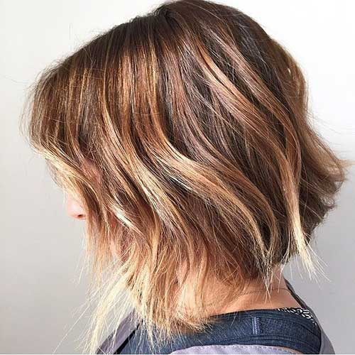 short bob hair with balayage the best short hairstyles. Black Bedroom Furniture Sets. Home Design Ideas