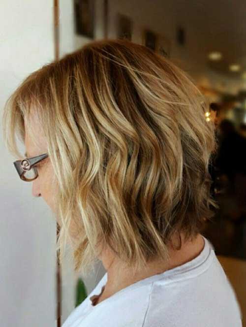 Balayage Wavy Bob Hair