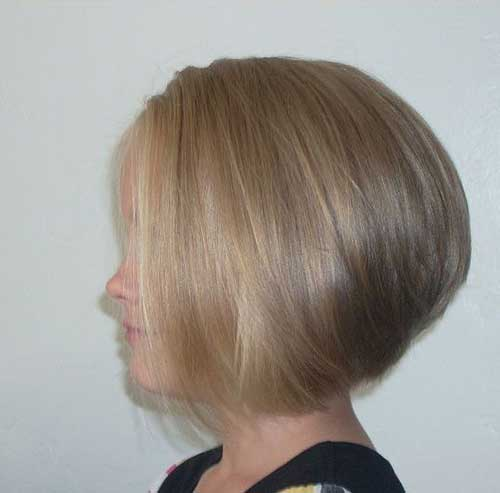 Stacked Bob Hairstyle Fine Hair