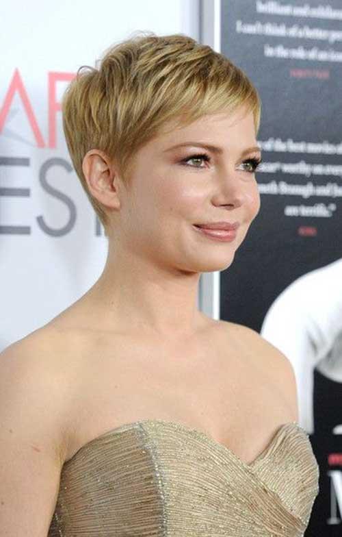 Blonde Short Hair Actress
