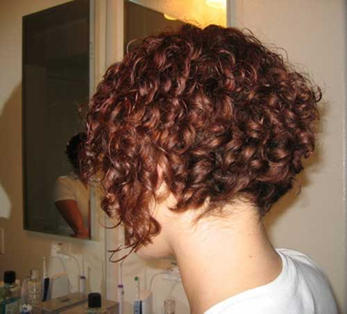 layered wedge haircut back view short hairstyle 2013