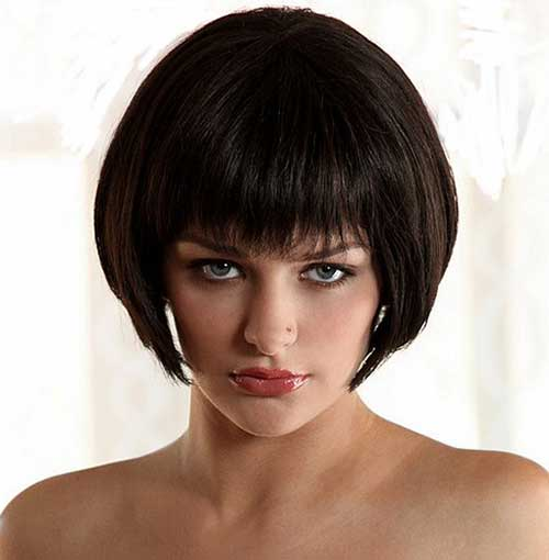 Best Chinese Bob Hairstyle with Bangs