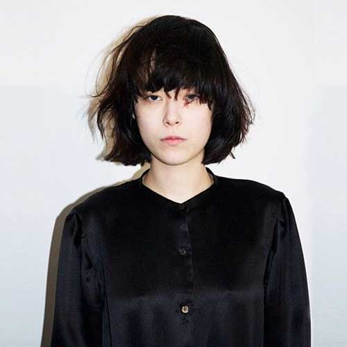 Chinese Messy Bob Hairstyle