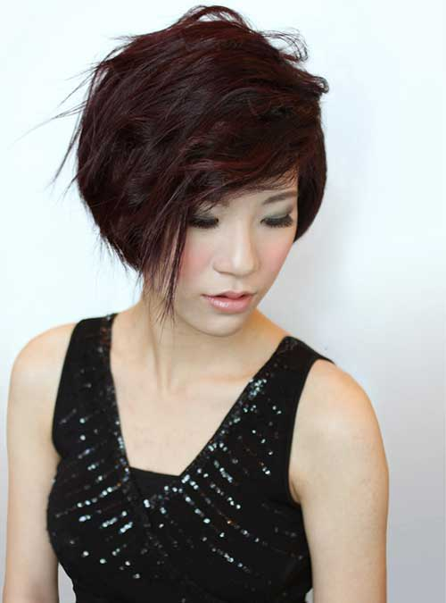 Chinese Pixie Bob Hairstyle