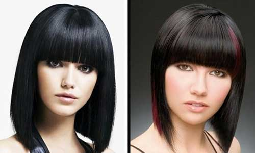 Chinese Long Bob Hairstyle