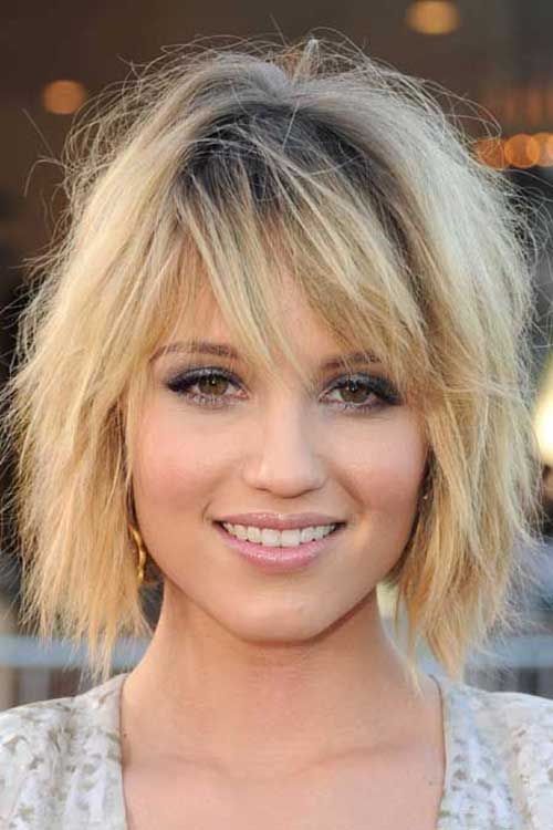 christie brinkley hairstyles : Choppy Bob Hairstyles For Thick Hair - crazyforus