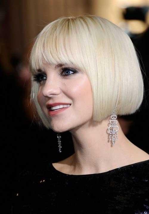 Anna Faris Bob Hairstyle