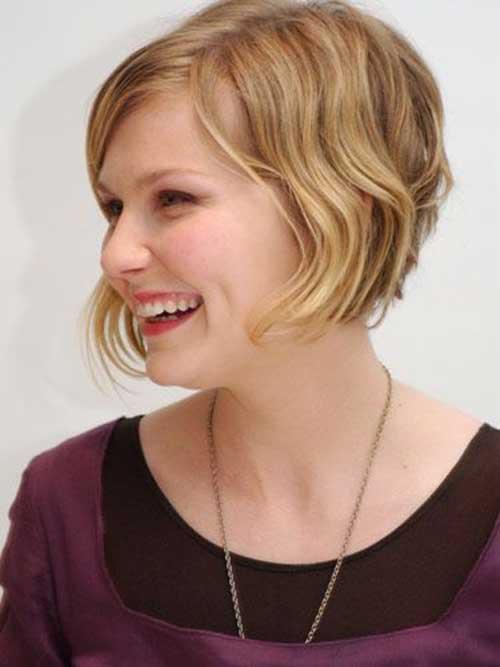 Cute Short Wavy Blonde Hairstyles